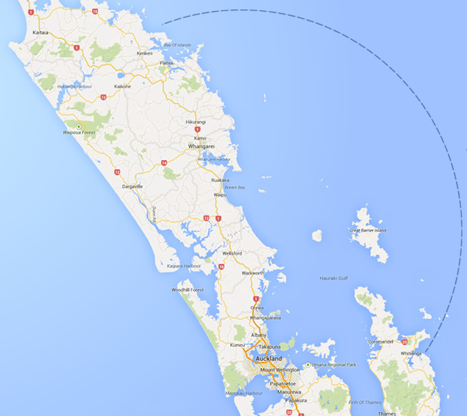 Basic Site Map: Bareboat Charter Auckland